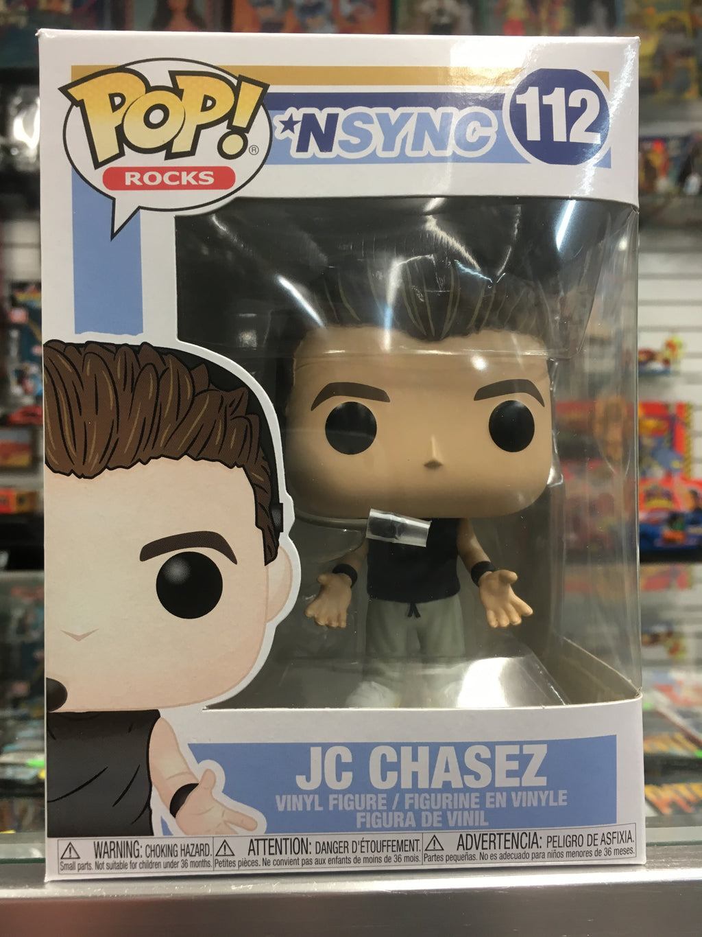 Funko POP! Rocks *NSYNC JC Chasez #112