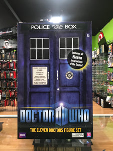 Character Doctor Who the Eleven Doctors Figure Set