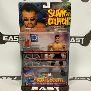 Toy Biz WCW/NWO Slam N Crunch Wrestlers Buff Bagwell