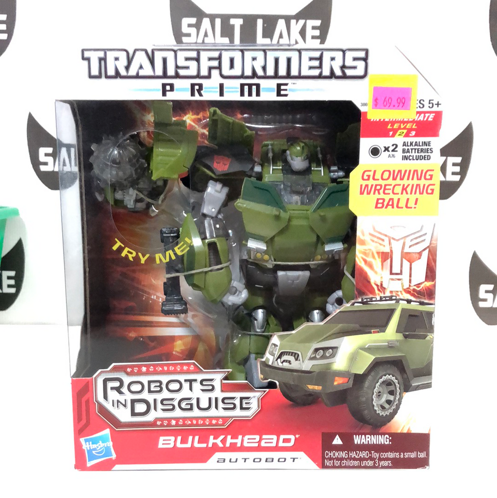 Hasbro Transformers Prime Robots in Disguise Voyager Class Autobot Bulkhead