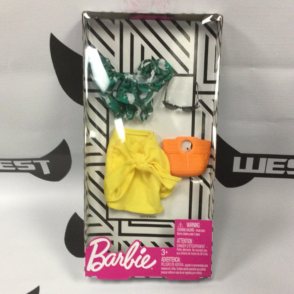 "MATTEL Barbie Single Fashion Pack - ""Mellow Yellow"""