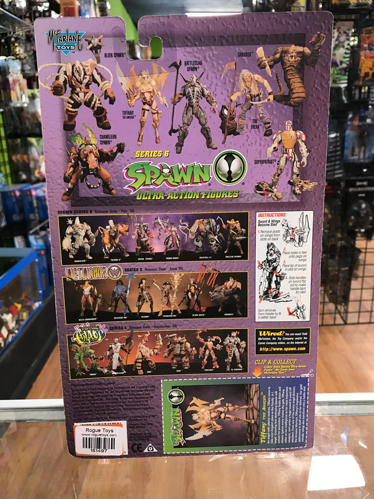 McFarlane Toys Todd McFarlane's Spawn Tiffany The Amazon