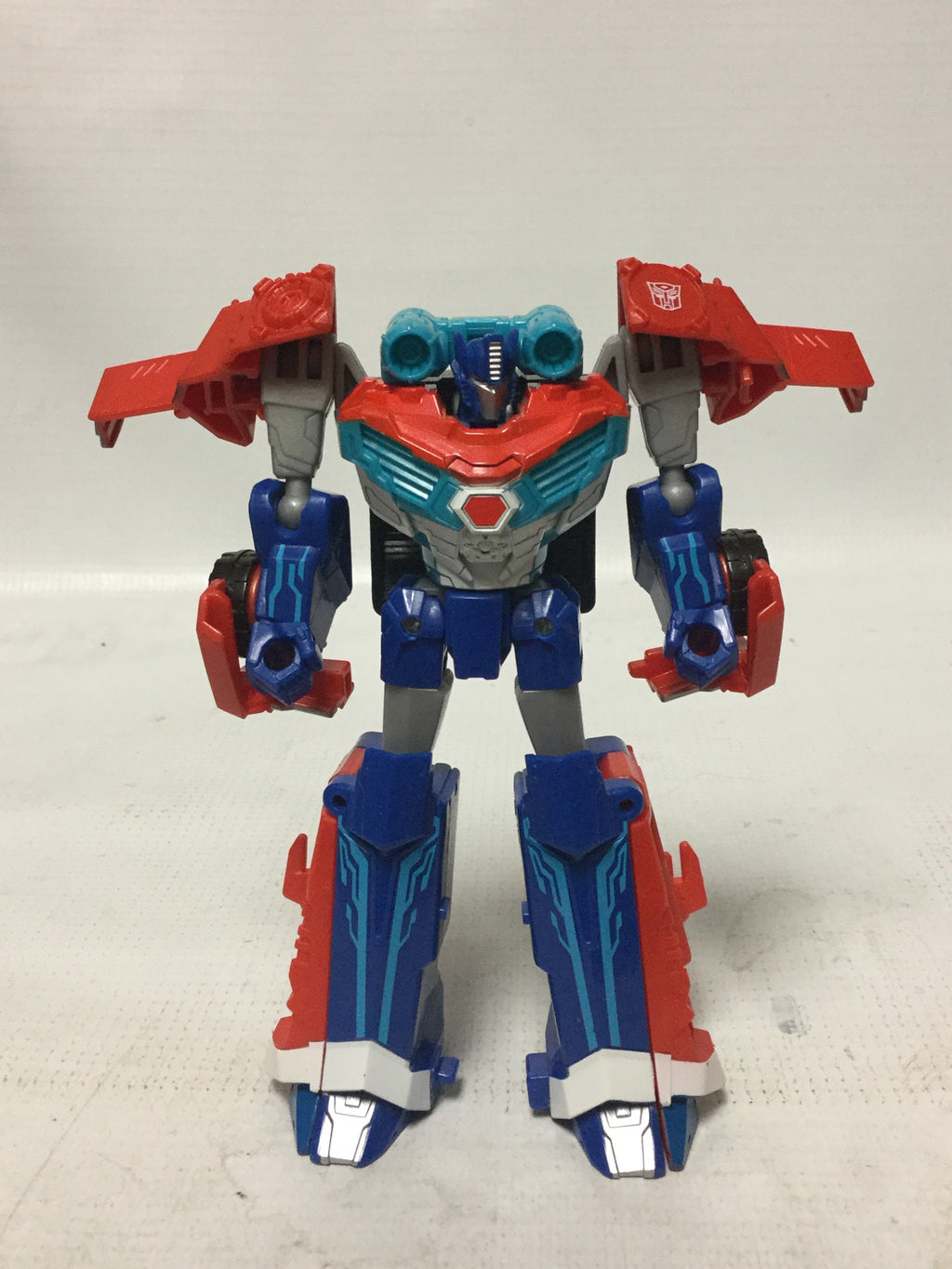 Hasbro Transformers Robots In Disguise Warrior Class Custom Power Surge Optimus Prime
