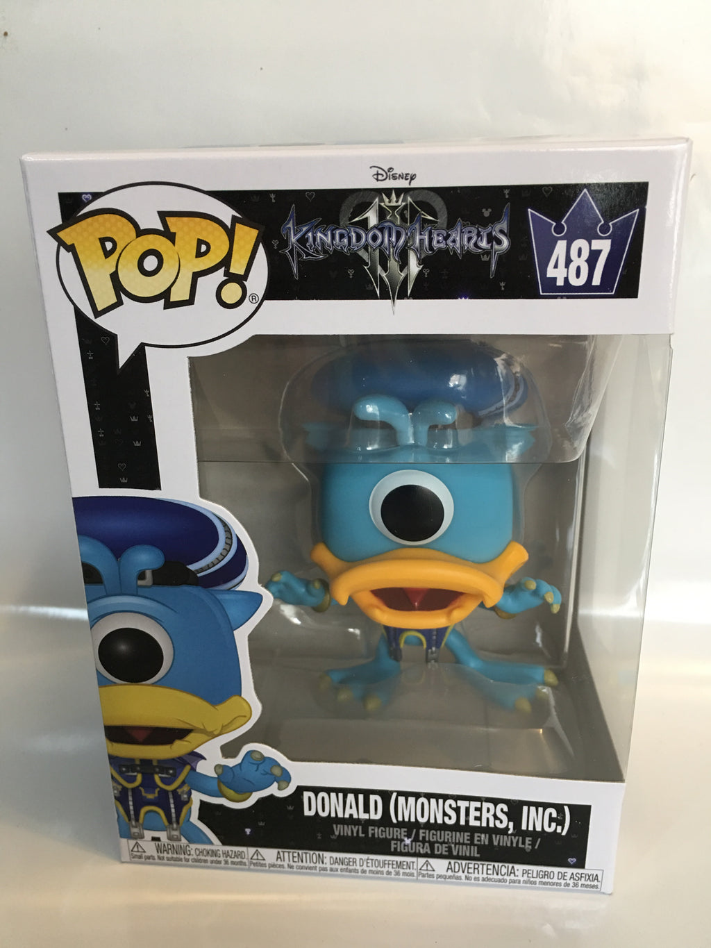 Funko Pop Games Kingdom Hearts Donald (Monsters Inc.) 487