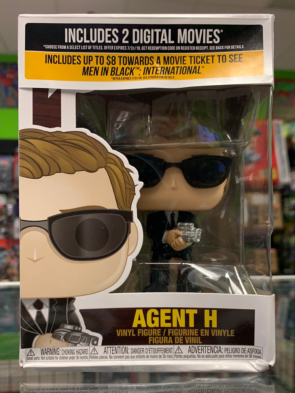 Funko POP! Movies Men In Black International Agent H 738