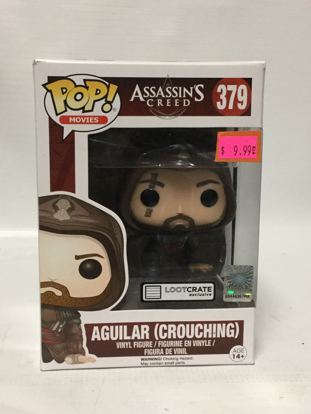 Funko Pop Movies! Assassin's Creed Aguilar (Crouching) Lootcrate Exclusive