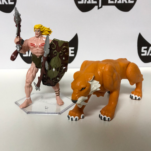 Toy Biz Marvel Ka-Zar and Zabu 1997