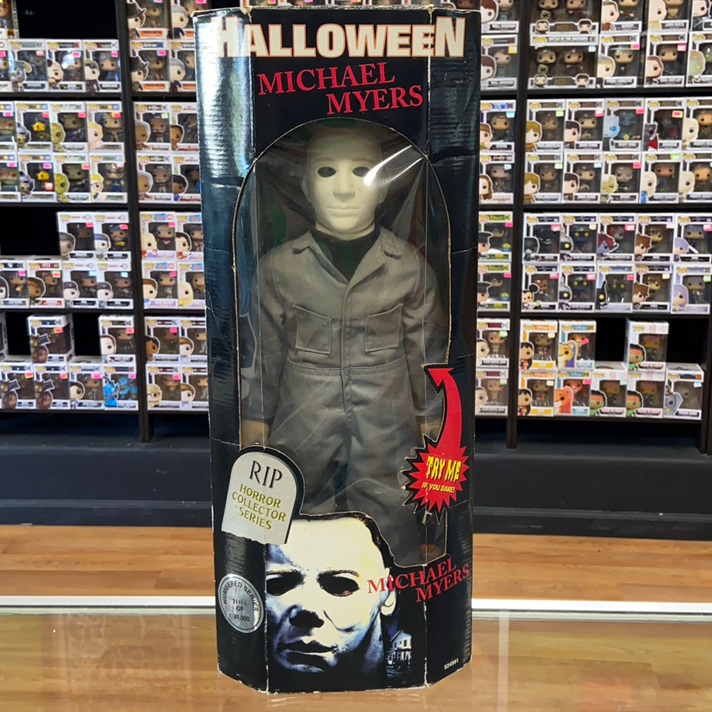 Spencer's Gifts Halloween Michael Myers plush figure (24,464 of 30,000)