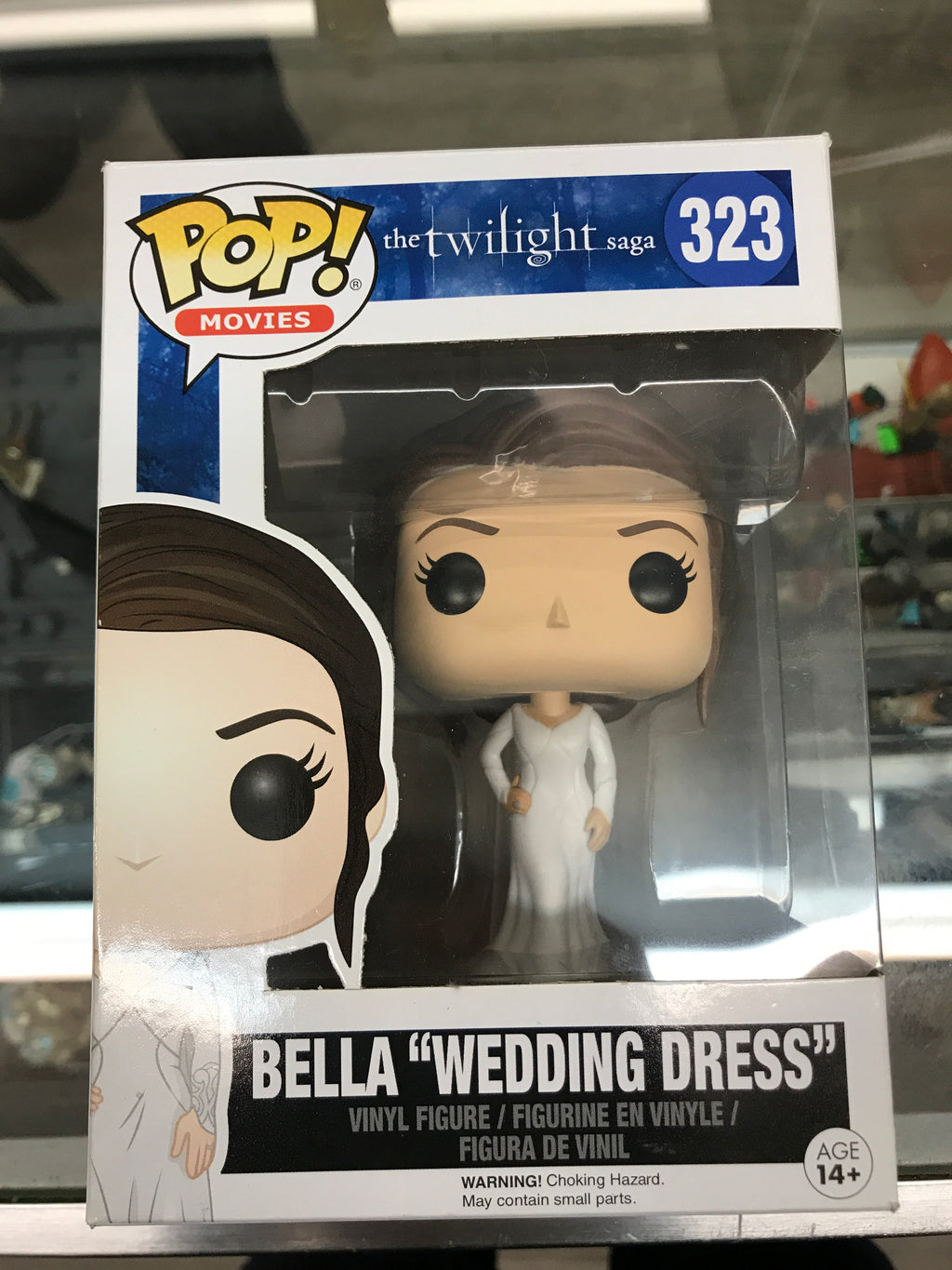 "Funko POP! Movies The Twilight Saga Bella ""Wedding Dress"" #323"