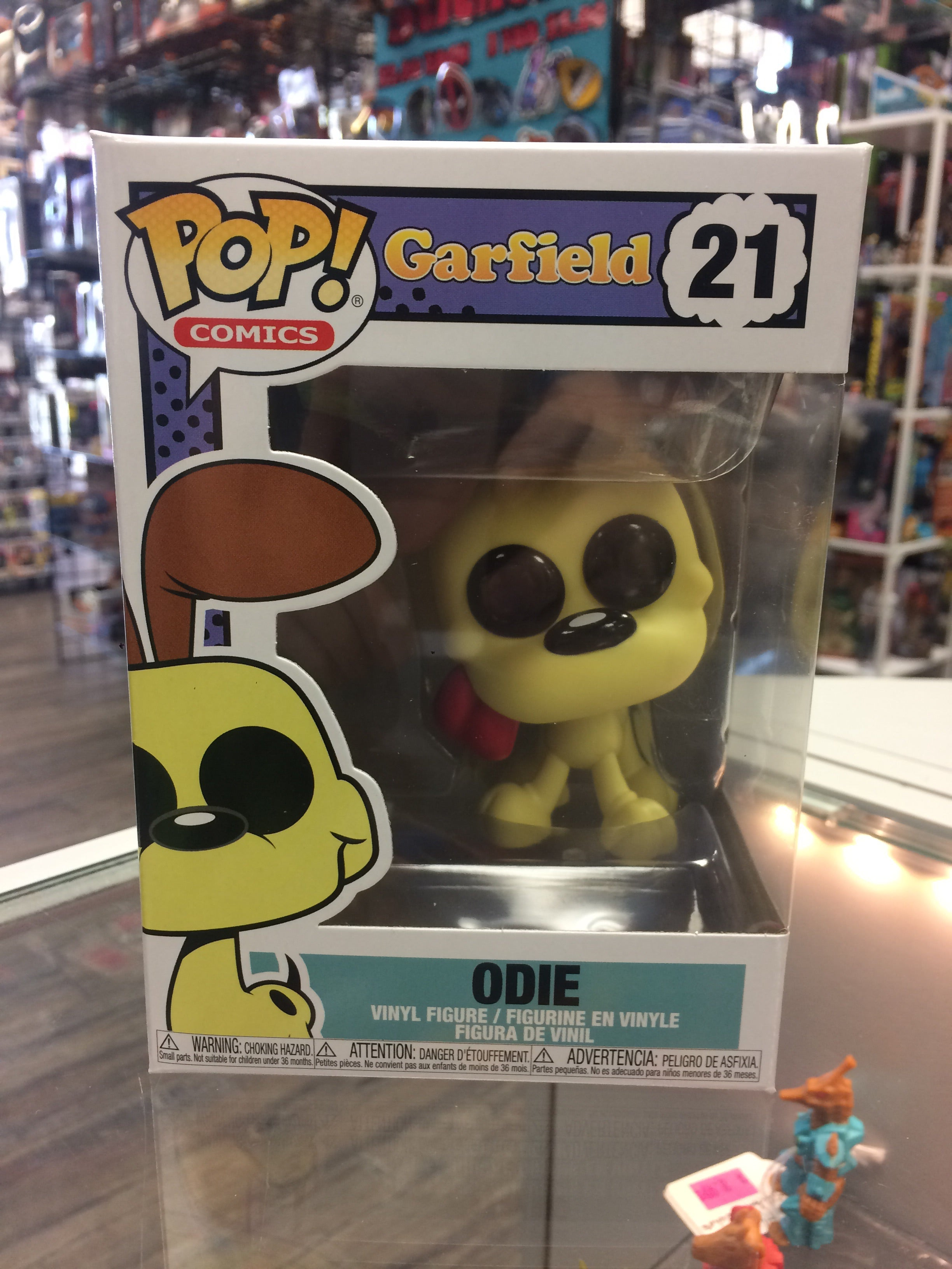 Funko Pop Comics Garfield Odie 21 Rogue Toys