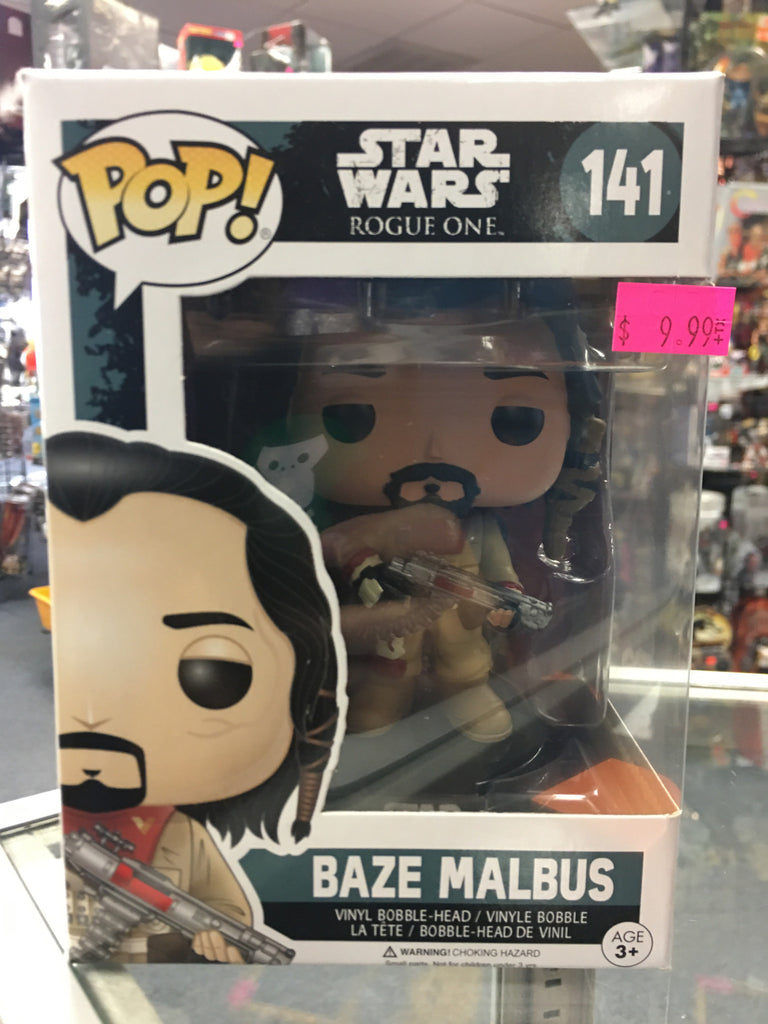Funko Pop! Star wars Baze Malbus 141