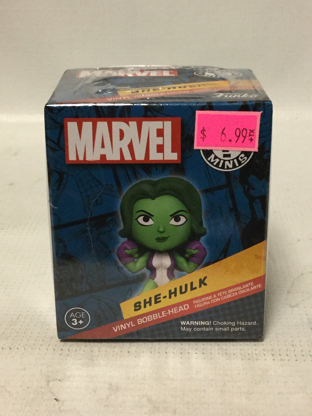 Funko Mystery Mini Marvel She Hulk Bobble Head