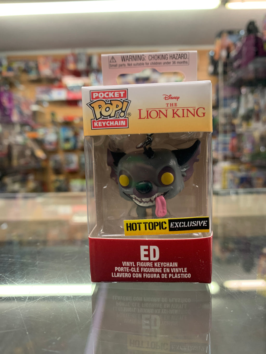 POP! Pocket Keychain The Lion King Ed Hot Topic Exclusive