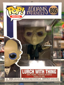 Funko POP! Movies The Addams Family Lurch With Thing 805