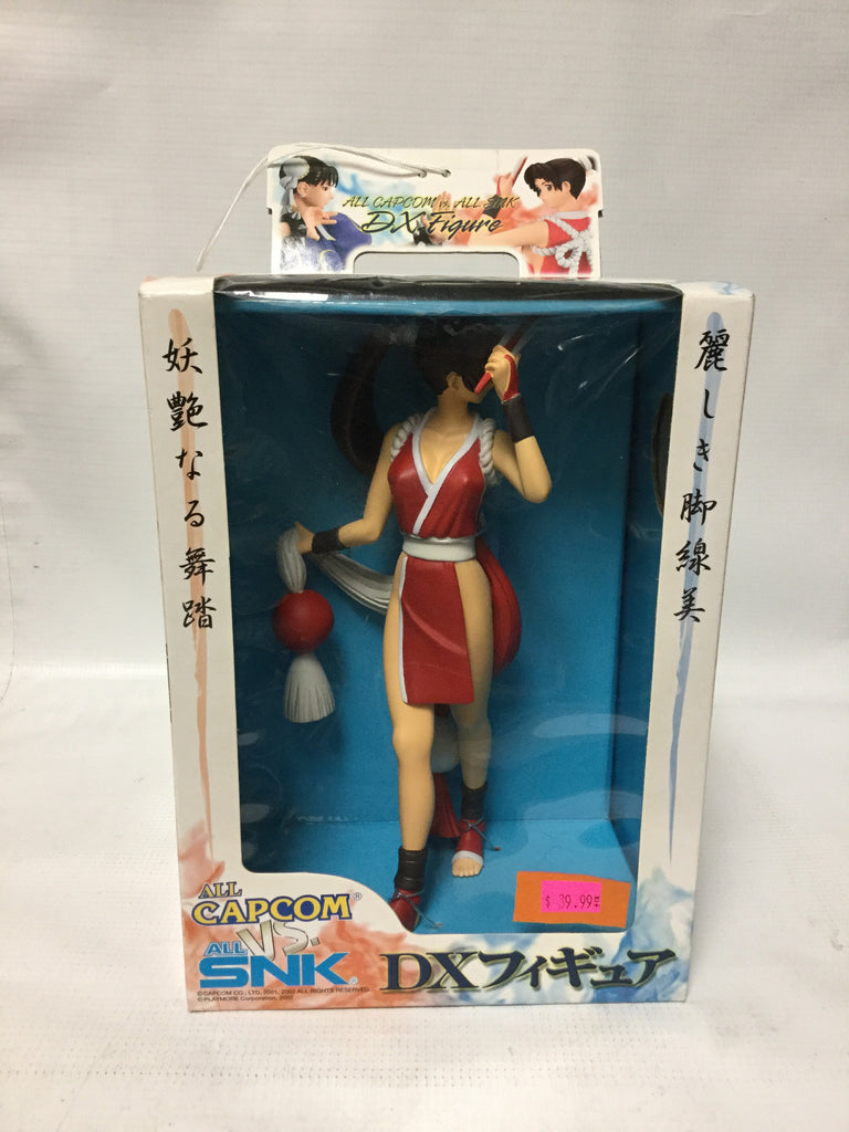 Banpresto All Capcom Vs All SNK DX Figure Mai Shiranui