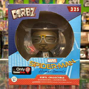 Funko Dorbz Marvel Spider-Man Homecoming Tony Stark Game Stop Exclusive