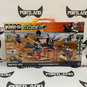 KRE-O G.I.JOE Battle Platform Attack (Toys R Us Exclusive)