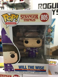 Funko POP! Television- Stranger Things Will the Wise #805