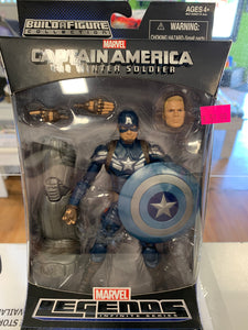 Hasbro Marvel Legends Captain America The Winter Soldier Captain America Mandroid BAF