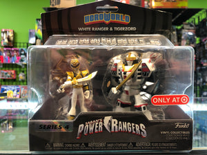 Funko Vinyl Collectibles Saban's Power Rangers WHITE RANGER & TIGERZORD