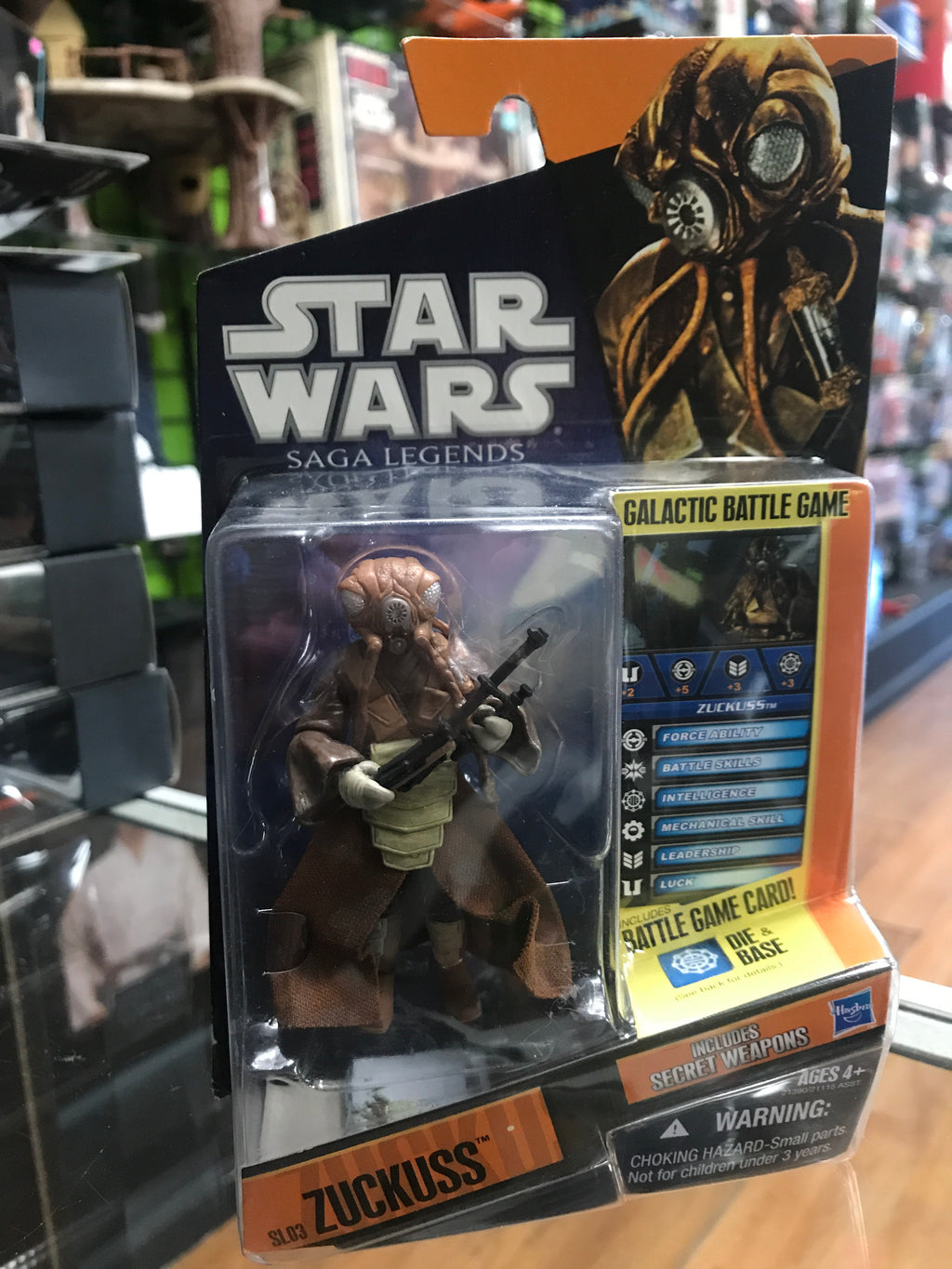 Hasbro Star Wars Saga Legends Zuckuss