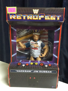 WWE elite Retrofest Hacksaw Jim Duggan