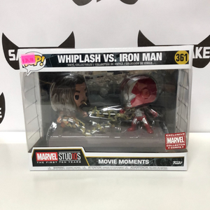 Funko POP! Movie Moments Marvel Studios The First Ten Years Whiplash vs. Iron Man
