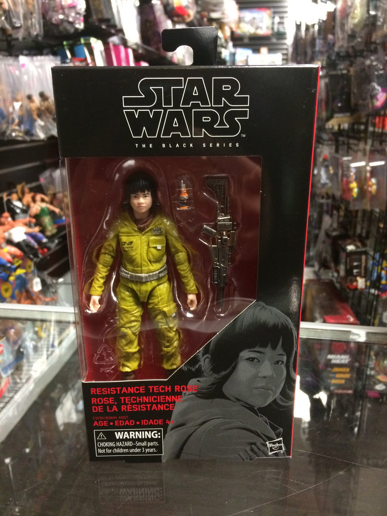 Star Wars The Black Series Resistance Tech Rose #55 Hasbro