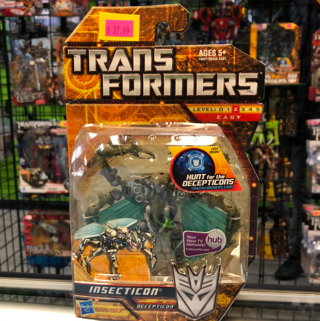 Hasbro Transformers Hunt for the Decepticons Insecticon
