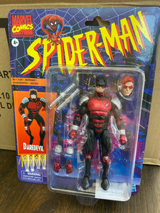 Hasbro Marvel Legends Spider-Man Retro Daredevil