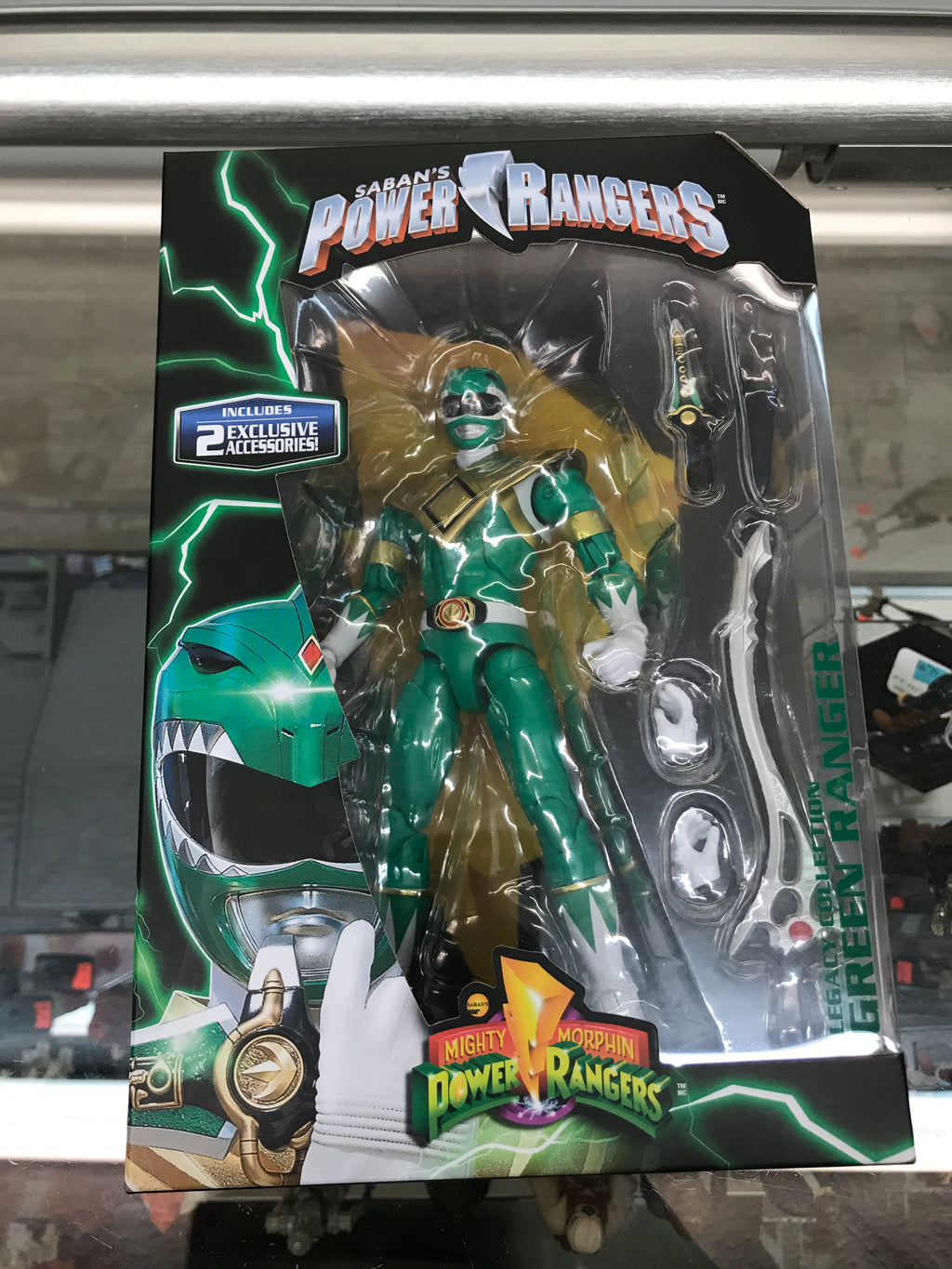 MMPR Legacy Collection Green Ranger