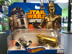Mattel Hot Wheels Star Wars R2-D2 & C-3PO