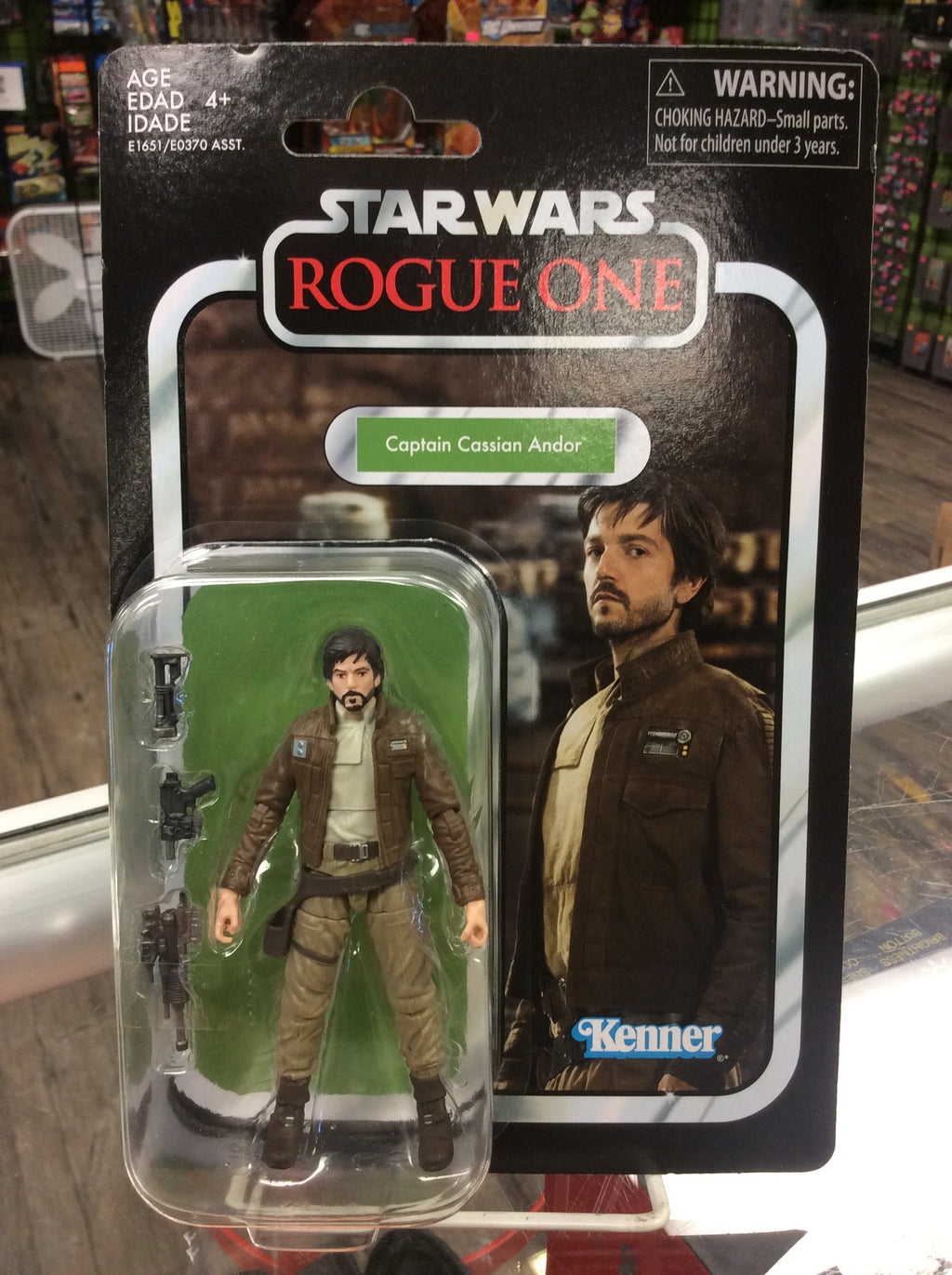 Star Wars Vintage Collection Rogue One Captain Cassian Andor