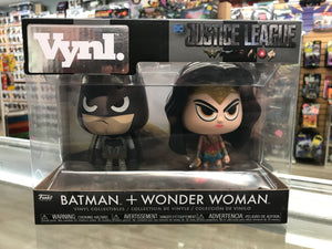 Funko Vynl Justice League Batman + Wonder Woman