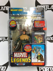 Toy Biz Marvel Legends Onslaught series Loki (Horn Variant)