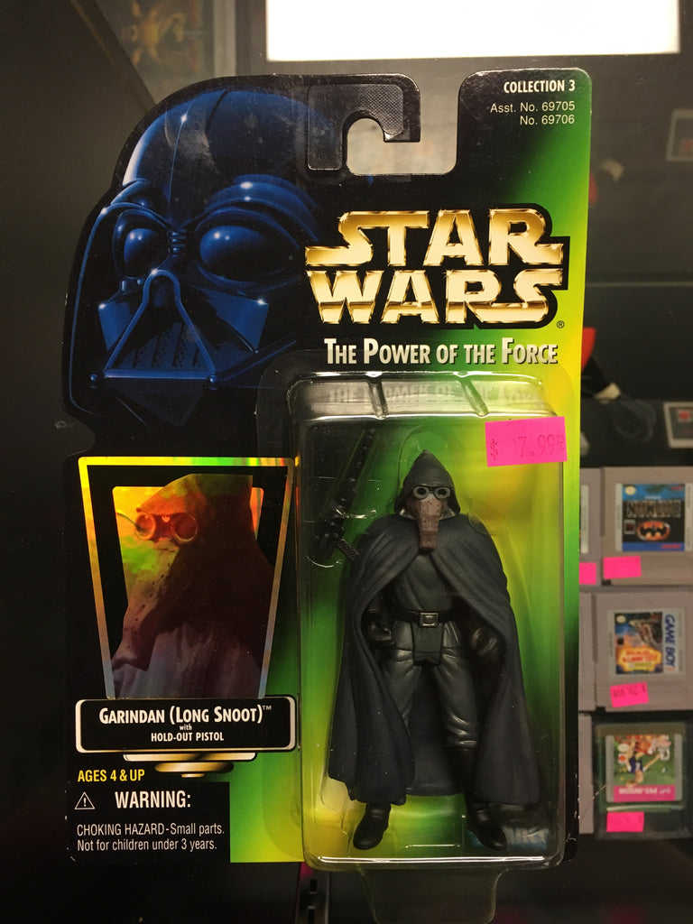 Kenner Star Wars Power of the Force Garindan figure
