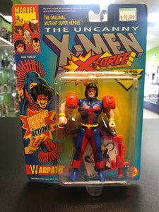 Toy Biz Marvel Comics The Uncanny X-Men X-Force WARPATH