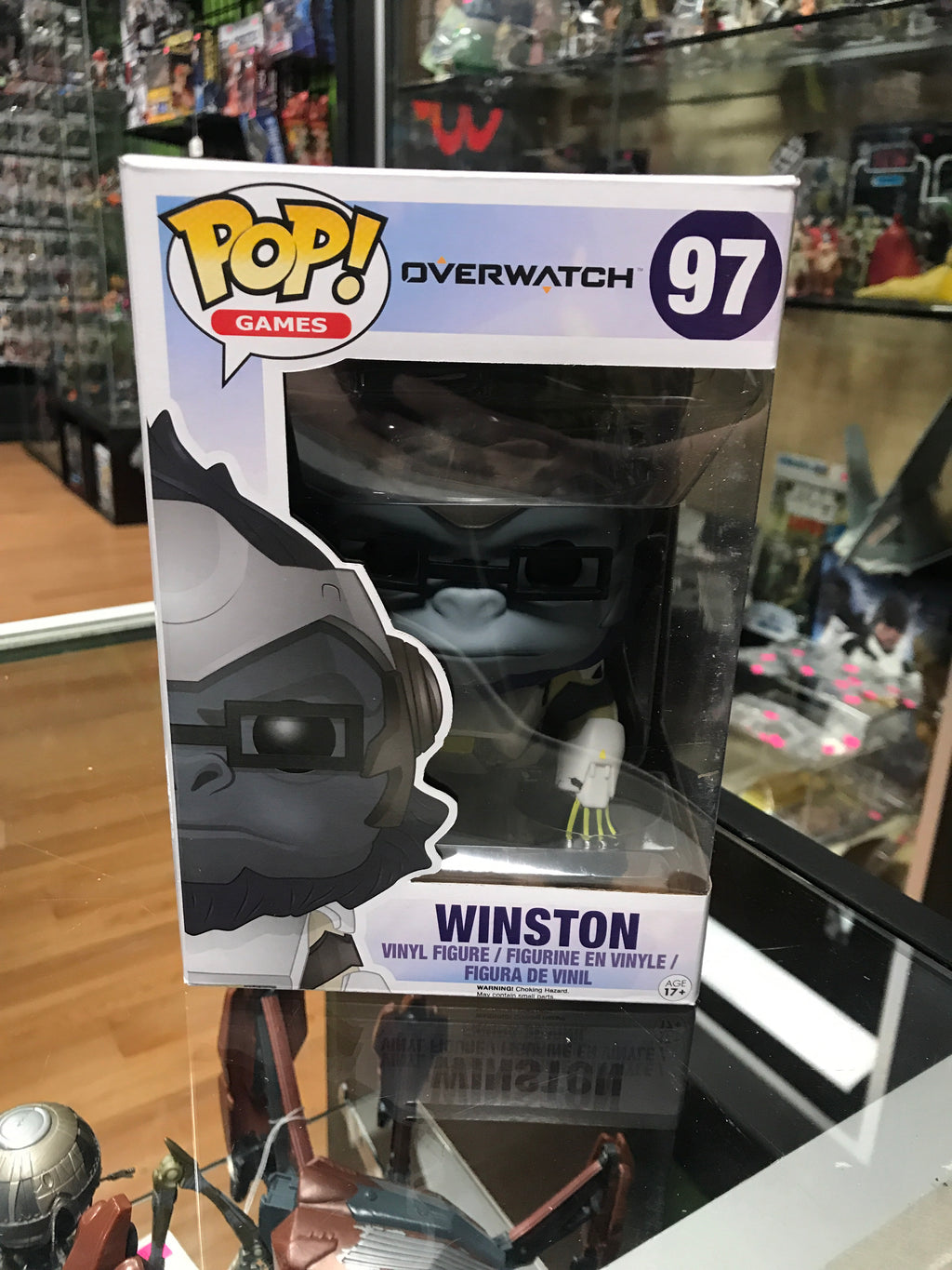 Funko Pop! Games Overwatch Winston #97