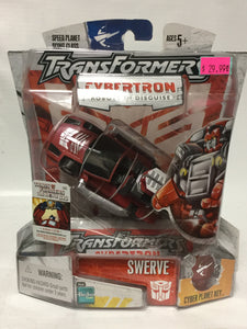 Hasbro Transformers Cybertron Robots In Disguise Swerve Cyber Planet Key
