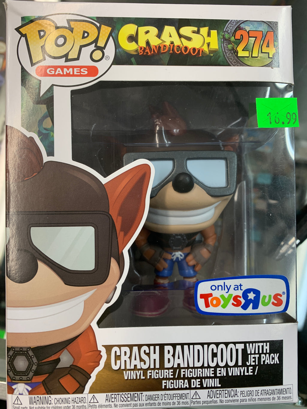 Funko POP! Games Crash Bandicoot #274 (TRU)