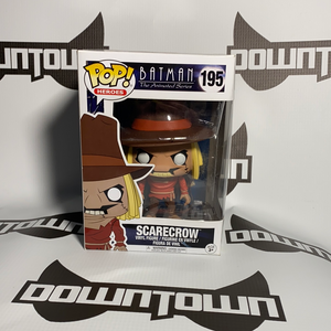 Funko POP! Batman the Animated Series Scarecrow 195