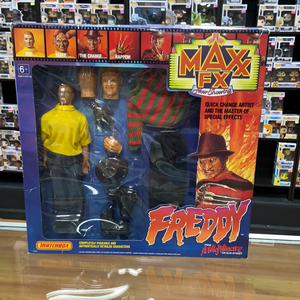 Matchbox Max FX Freddy from A Nightmare on Elm Street