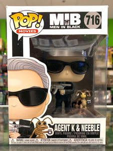 Funko POP! Movies Men In Black Agent K & Neeble 716