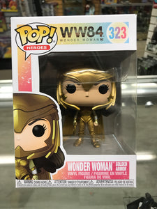 Funko POP! Heroes Wonder Woman 1984 Wonder Woman Golden Armor #323