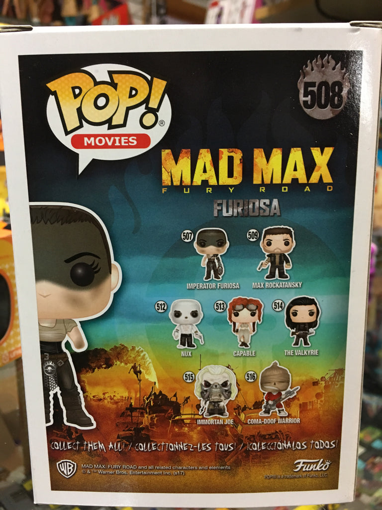Funko POP! Movies Mad Max Furiosa (Hot Topic Excl)