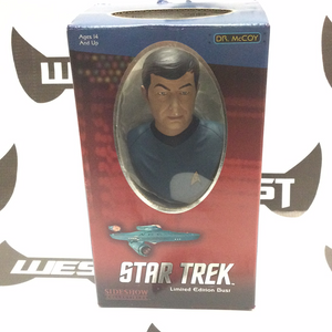SIDESHOW COLLECTIBLES Star Trek Limited Edition Bust, Dr. McCoy 742/5000