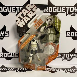 Hasbro Star Wars Saga Legends Biker Scout Fans' Choice