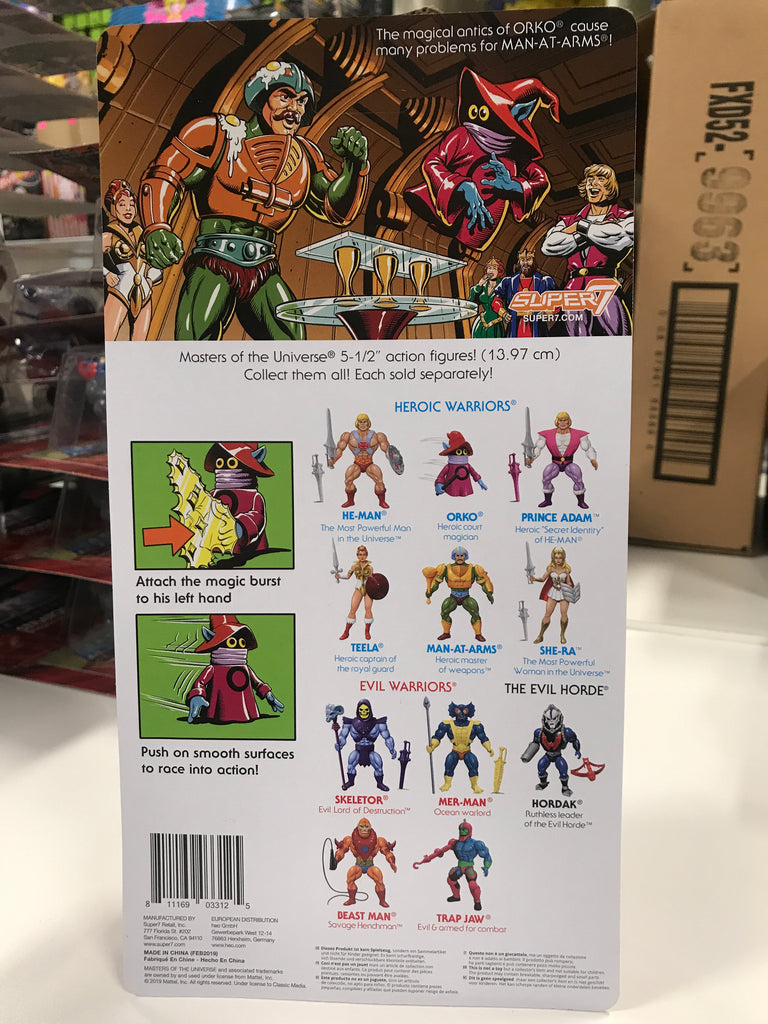 Super 7 Masters of the Universe Orko MOTU
