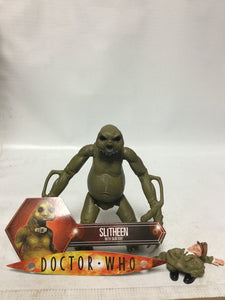 Doctor Who Slitheen With Skin Suit