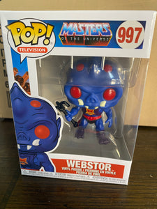 FUNKO POP! Television #997 MOTU Masters of the Universe, Webstor